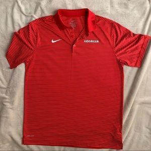 Nike UGA polo